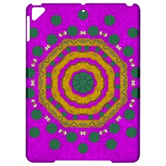 Peacock Flowers Ornate Decorative Happiness Apple Ipad Pro 9 7   Hardshell Case by pepitasart