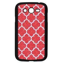 Tile1 White Marble & Red Colored Pencil Samsung Galaxy Grand Duos I9082 Case (black)
