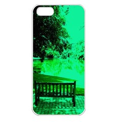 Lake Park 20 Apple Iphone 5 Seamless Case (white) by bestdesignintheworld