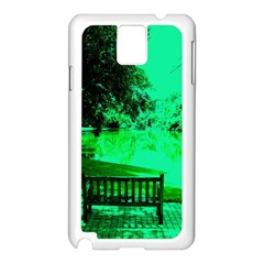 Lake Park 20 Samsung Galaxy Note 3 N9005 Case (white) by bestdesignintheworld
