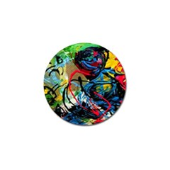 Rumba On A Chad Lake 4 Golf Ball Marker (10 Pack) by bestdesignintheworld