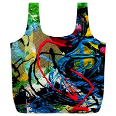 Rumba On A Chad Lake 4 Full Print Recycle Bags (l)  by bestdesignintheworld