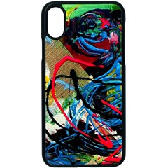 Rumba On A Chad Lake 4 Apple Iphone X Seamless Case (black) by bestdesignintheworld