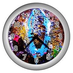 New   Well Forgotten Old 13 Wall Clocks (silver)  by bestdesignintheworld
