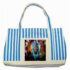 New   Well Forgotten Old 13 Striped Blue Tote Bag by bestdesignintheworld