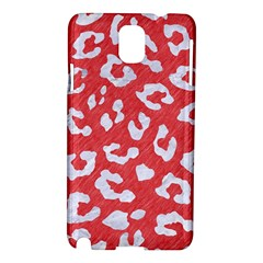 Skin5 White Marble & Red Colored Pencil (r) Samsung Galaxy Note 3 N9005 Hardshell Case by trendistuff
