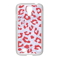 Skin5 White Marble & Red Colored Pencil Samsung Galaxy S4 I9500/ I9505 Case (white)