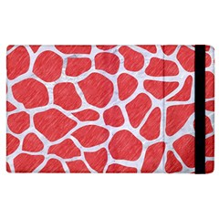Skin1 White Marble & Red Colored Pencil (r) Apple Ipad 2 Flip Case by trendistuff