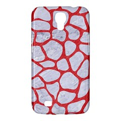 Skin1 White Marble & Red Colored Pencil Samsung Galaxy Mega 6 3  I9200 Hardshell Case by trendistuff