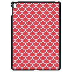 Scales1 White Marble & Red Colored Pencil Apple Ipad Pro 9 7   Black Seamless Case by trendistuff