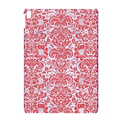 Damask2 White Marble & Red Colored Pencil (r) Apple Ipad Pro 10 5   Hardshell Case by trendistuff