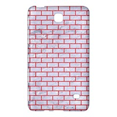Brick1 White Marble & Red Colored Pencil (r) Samsung Galaxy Tab 4 (8 ) Hardshell Case  by trendistuff