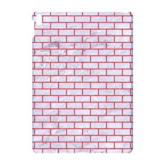 Brick1 White Marble & Red Colored Pencil (r) Apple Ipad Pro 10 5   Hardshell Case by trendistuff