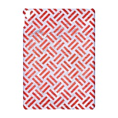 Woven2 White Marble & Red Brushed Metal (r) Apple Ipad Pro 10 5   Hardshell Case by trendistuff