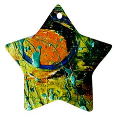 Lunar Eclipse Star Ornament (two Sides) by bestdesignintheworld