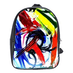 Lets Forget The Black Squere 1 School Bag (xl) by bestdesignintheworld