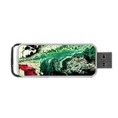 Twist 6 Portable Usb Flash (one Side) by bestdesignintheworld