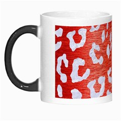 Skin5 White Marble & Red Brushed Metal (r) Morph Mugs by trendistuff