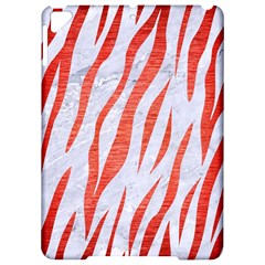 Skin3 White Marble & Red Brushed Metal (r) Apple Ipad Pro 9 7   Hardshell Case by trendistuff