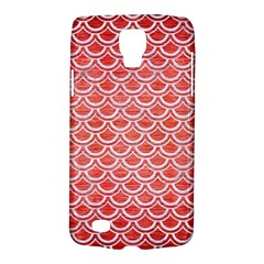 Scales2 White Marble & Red Brushed Metal Galaxy S4 Active by trendistuff