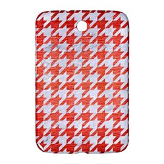 Houndstooth1 White Marble & Red Brushed Metal Samsung Galaxy Note 8 0 N5100 Hardshell Case  by trendistuff