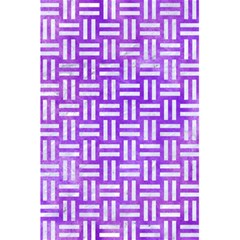 Woven1 White Marble & Purple Watercolor 5 5  X 8 5  Notebooks by trendistuff