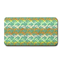 Colorful Tropical Print Pattern Medium Bar Mats