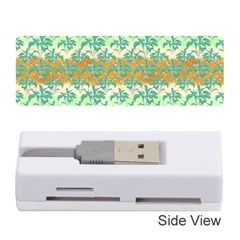 Colorful Tropical Print Pattern Memory Card Reader (stick)