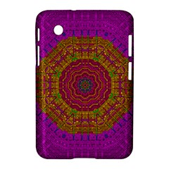 Summer Sun Shine In A Sunshine Mandala Samsung Galaxy Tab 2 (7 ) P3100 Hardshell Case  by pepitasart