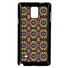 Artwork By Patrick Squares 5 Samsung Galaxy Note 4 Case (black)