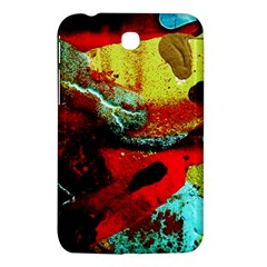 Yellow Dolphins   Blue Lagoon 4 Samsung Galaxy Tab 3 (7 ) P3200 Hardshell Case  by bestdesignintheworld