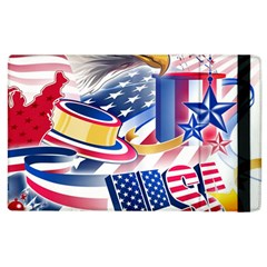 United States Of America Usa  Images Independence Day Apple Ipad 3/4 Flip Case by Sapixe