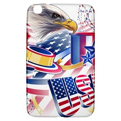 United States Of America Usa  Images Independence Day Samsung Galaxy Tab 3 (8 ) T3100 Hardshell Case  by Sapixe