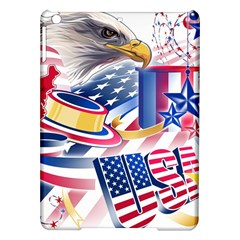 United States Of America Usa  Images Independence Day Ipad Air Hardshell Cases by Sapixe