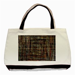 Unique Pattern Basic Tote Bag (two Sides) by Sapixe