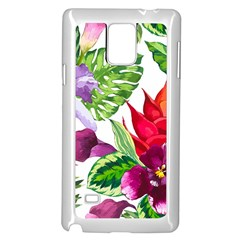 Vector Pattern Tropical Samsung Galaxy Note 4 Case (white) by Sapixe