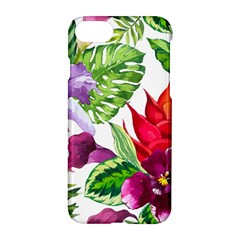 Vector Pattern Tropical Apple Iphone 7 Hardshell Case by Sapixe