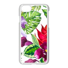 Vector Pattern Tropical Apple Iphone 7 Seamless Case (white) by Sapixe