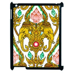 Traditional Thai Style Painting Apple Ipad 2 Case (black) by Sapixe