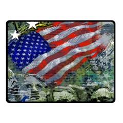 Usa United States Of America Images Independence Day Fleece Blanket (small) by Sapixe