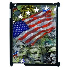 Usa United States Of America Images Independence Day Apple Ipad 2 Case (black) by Sapixe
