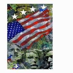 Usa United States Of America Images Independence Day Small Garden Flag (two Sides) by Sapixe