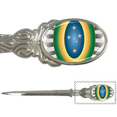 Seal Of The Brazilian Army Letter Openers by abbeyz71