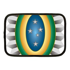Seal Of The Brazilian Army Netbook Case (medium)  by abbeyz71