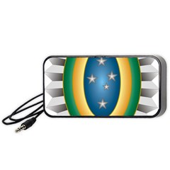 Seal Of The Brazilian Army Portable Speaker by abbeyz71