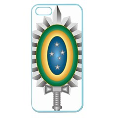 Seal Of The Brazilian Army Apple Seamless Iphone 5 Case (color) by abbeyz71
