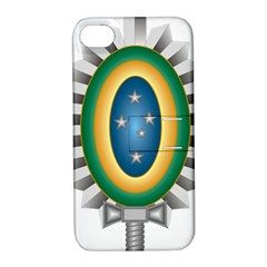 Seal Of The Brazilian Army Apple Iphone 4/4s Hardshell Case With Stand by abbeyz71