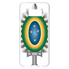 Seal Of The Brazilian Army Samsung Galaxy S8 Plus White Seamless Case by abbeyz71