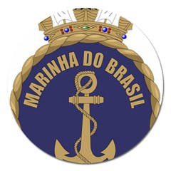 Seal Of Brazilian Navy  Magnet 5  (round) by abbeyz71
