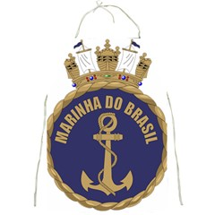 Seal Of Brazilian Navy  Full Print Aprons by abbeyz71